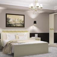 Кровать Ливадия - Weave светлый